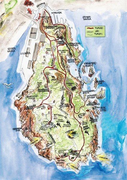 kart over odderøya Odderøya   Odderøyas Venner gir ut historisk kart kart over odderøya